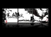图片素材 飞马/[PSD]水墨飞马中国风无框画[RF]大图收藏 ▼下载